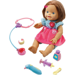 Vtech® Babypuppe Babypuppe Little Love - Lotta mit Ärzteset