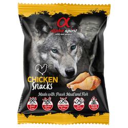 (1,98 EUR/100g) alpha spirit Hundesnack gewürfelt Huhn 50 g