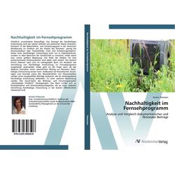 Nachhaltigkeit im Fernsehprogramm als Buch von Kristin Petersen