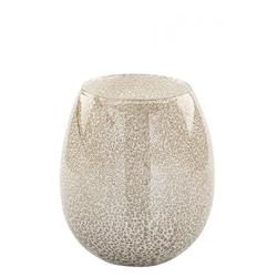 Vase SILVA creme(DH 20x23 cm)