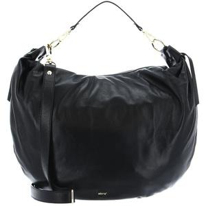 Abro Schultertasche Leather Nappa Giglio schwarz