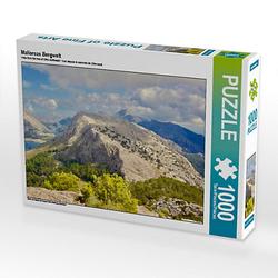 Mallorcas Bergwelt Lege-Größe 64 x 48 cm Foto-Puzzle Bild von Reinhard Werner Puzzle