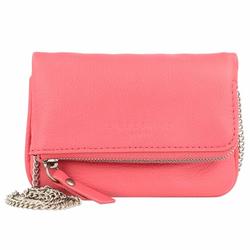 Liebeskind Aloe XXS Mini Bag Umhängetasche Leder 13 cm flamingo