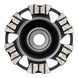 Roll Diamantscheibe 125mm geschmiedet