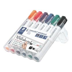 6er-Pack Whiteboard-Marker »Lumocolor 351 B«, Staedtler