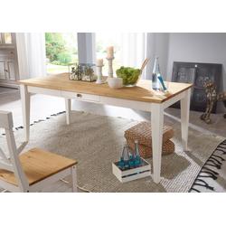Home affaire Esstisch Marissa weiß Holz-Esstische Holztische Tische Tisch