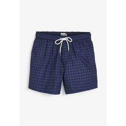 Next Shorts, Badehose Karierte Schwimm-Shorts S