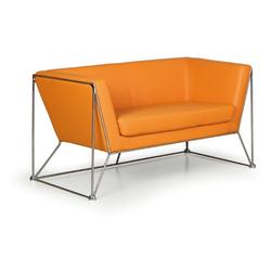 Sofa net, 2 sitzplätze, orange