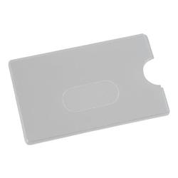 Scheckkartenhülle mit Langloch grau, EICHNER, 9x5.9 cm