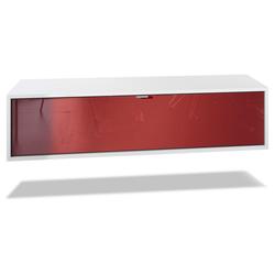 Vladon Lowboard Lana, Breite 120 cm rot
