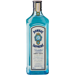 BOMBAY SAPPHIRE London Dry Gin 1,0 L