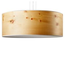 LeuchtNatur Pendelleuchte Holz mit Diffuser Discus Zirbe