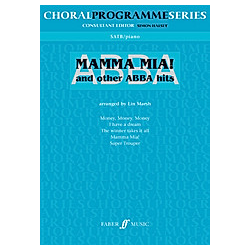 Mamma mia & other ABBA  choir and piano. Abba  - Buch