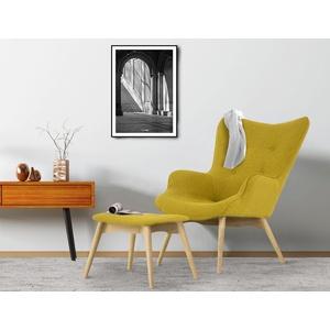 COUCH♥ Sessel Ducon, wahlweise mit oder ohne Hocker, COUCH Lieblingsstücke gelb