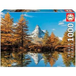 Educa - Matterhorn im Herbst 1000 Teile Puzzle