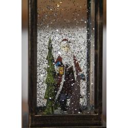 Konstsmide 2888-000 Weihnachtsmann, Weihnachtsbaum LED mit Wasser gefüllt