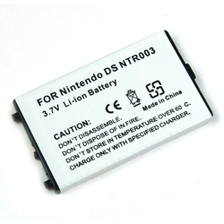 Akku für Nintendo DS Gameboy, NDS, Typ: NTR-001, NTR-003, Li-Ion