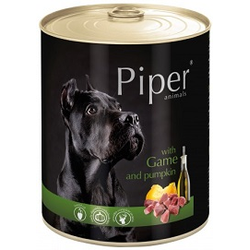 PIPER Wild & Kürbis Nassfutter Hundefutter Dosen (0,400 kg)