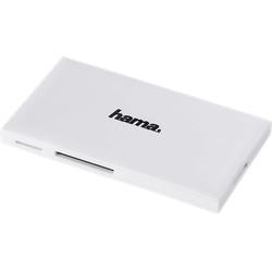 HAMA USB 3.0, Kartenlesegerät, Weiß
