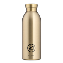24Bottles Glam Clima Trinkflasche 500 ml prosecco gold
