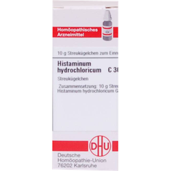 HISTAMINUM hydrochloricum C 30 Globuli 10 g