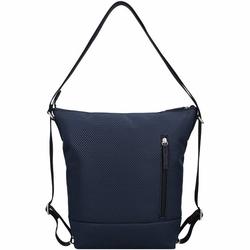 Jost Mesh 3-Way Schultertasche 41,5 cm Laptopfach blau
