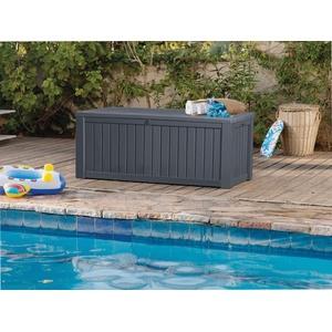 """Gartenbox """"Rockwood"""" 570 Liter > Auflagenbox Kissenbox Gartentruhe Kissentruhe"""