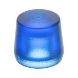Ersatz-Schlageinsatz 25 mm aus Celluloseacetat blau