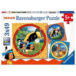 Ravensburger Yakari, der tapfere Indianer,, Kinderpuzzle
