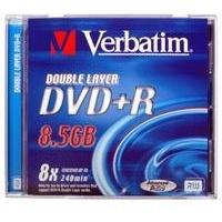 Verbatim DVD+R DL 8,5GB 8x 1er Jewelcase