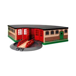 BRIO® Spielzeug-Eisenbahn Großer Ringlokschuppen