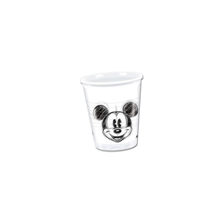 Procos Kinderbecher Partybecher Mickey Faces 200 ml, 25 Stück
