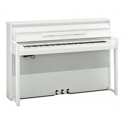 Yamaha NU-1X PBW Hybrid Piano weiß hochglanz