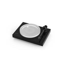 Pro-Ject X2 inkl. 2M Silver - Plattenspieler matt schwarz