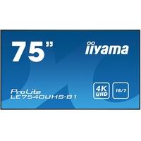 """Iiyama LE7540UHS-B1 75"""""""