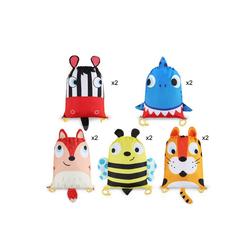 BeebeeRun Lernspielzeug (für Geburtstagsgeschenke Mitgebsel Kindergeburtstag, 10-St., Partytüten Candy Tüten Geschenktüten Mitgebsel Beutel), 10 Stück Gastgeschenke Tüten