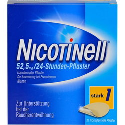 NICOTINELL 21 mg/24-Stunden-Pflaster 52,5mg 21 St.