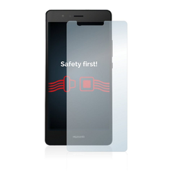 Savvies Schutzfolie Panzerglas für Huawei P9, Schutzglas Echtglas 9H klar