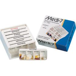 MEDI 7 Medikamentendos.f.7 Tage weiß 1 St