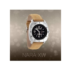 Xlyne Nara XW Pro Silber Smartwatch Bluetooth 4.0 Android/iOS 240 x px SMS/e-mail/WhatsApp Facebook Twitter (54004)