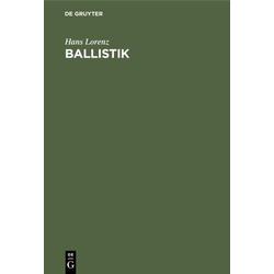 Ballistik als Buch von Hans Lorenz
