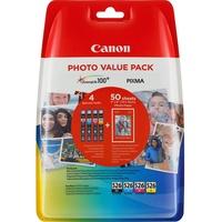 Canon CLI-526 CMYK + Fotopapier