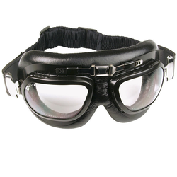 Bores Oldschool Brille, schwarz