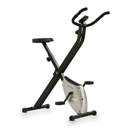 aktivshop Laufband Heimtrainer X-Bike aktiv Pro Silber/Schwarz