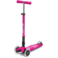 Micro Mobility Maxi Micro Deluxe LED shock pink