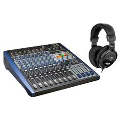 Presonus StudioLive AR12c Analogmischpult Set