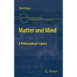 Matter and Mind. Mario Bunge  - Buch