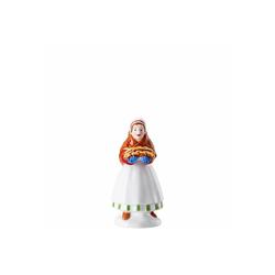 Hutschenreuther Dekofigur Marktfrau Weihnachtsbäckerei Sammelkollektion 2020 (1 Stück)