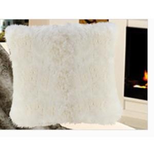 Gözze Felloptik Wohnkissenhülle, 50 x 50 cm, 100 % Polyester, Design: Eisbär