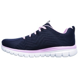 SKECHERS Graceful Get Connected navy-rose/ white, 37
